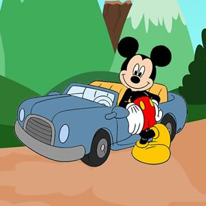 Mickey Mouse Car Keys