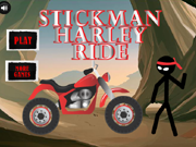 Stickman Harley Ride